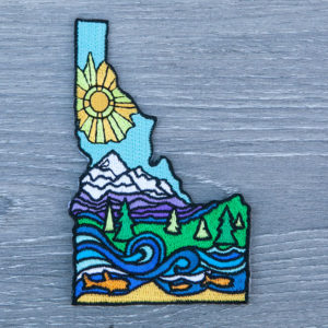 Idaho Mountains Patch by Mary Butler